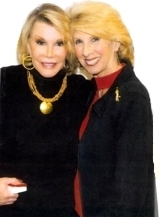 Barbara Brighton and Joan Rivers